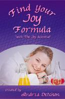Find Your Joy Formula Book by The Joy Scientist